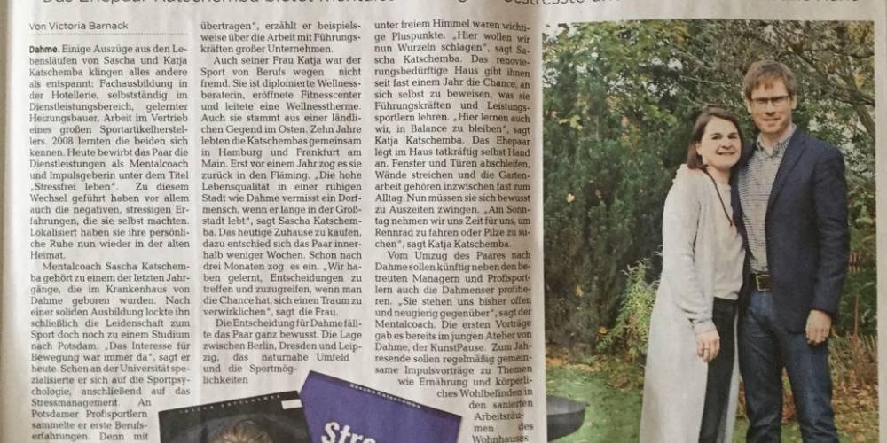 """""""Stressfrei zurück zu den Wurzeln in Dahme"""""""