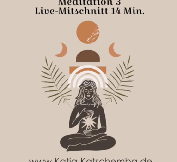 #25/21 Live Meditation Mittschnitt Nr. 3 // FREE